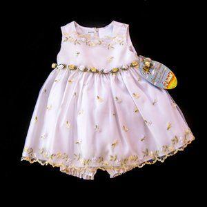 🆕 American Princess Baby Girl Dress Size 1…